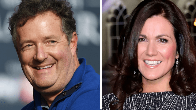 Piers Morgan proposes a 'men's march,' immediately shut down by his own cohost on Twitter.
