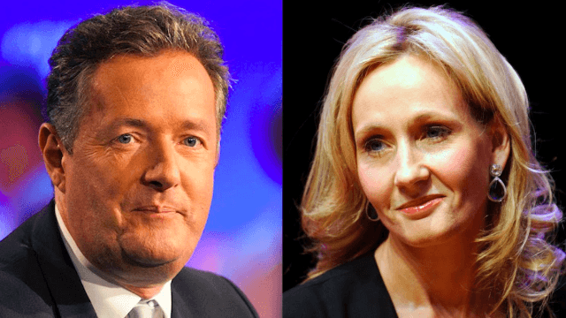 Piers Morgan tried to spar with JK Rowling on Twitter. It did not go well for him.