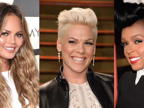 Pink, Chrissy Teigen, and Janelle Monáe stood up to online body-shaming this week, kicked ass.