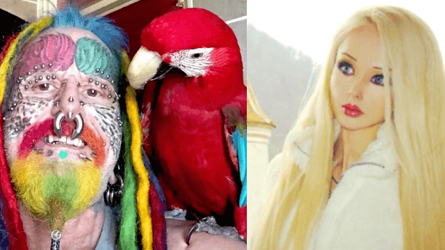 5 people who had plastic surgery to look inhuman and totally nailed it.