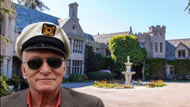 The Playboy mansion is up for sale, if you're OK with an 89-year-old roommate.