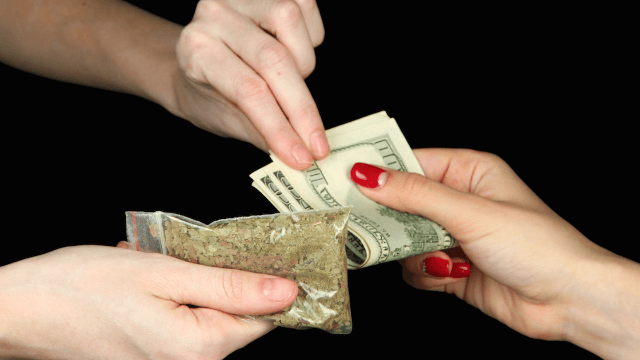 Woman calls cops to complain about her drug dealer raising prices. The cops were ready.