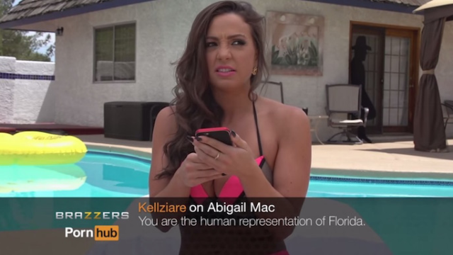 Porn stars read mean comments about themselves, and the only losers are people who comment on porn.