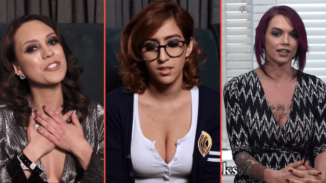 Women in porn discuss the challenges of having a relationship in their line of work.