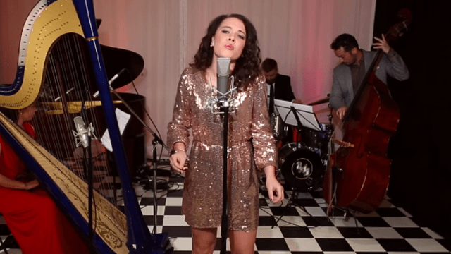 Watch Postmodern Jukebox back an insanely talented 14-year-old singing 'Time After Time.'