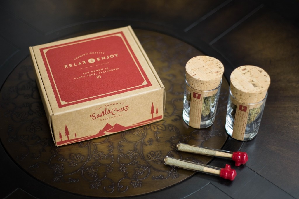 This subscription box service delivers a fun new strain of weed to your door every month.