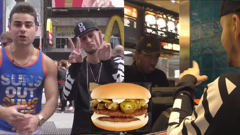 """""""Pranksters"""" rapping a McDonald's order don't understand what a prank is."""