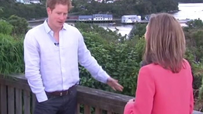 """Prince Harry says he wants to put babies in someone """"right now."""""""
