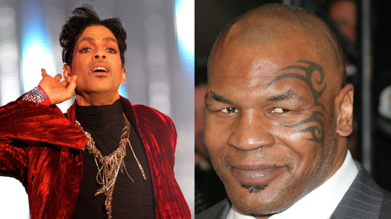 Mike Tyson's tribute to Prince is even weirder than you'd expect it to be.