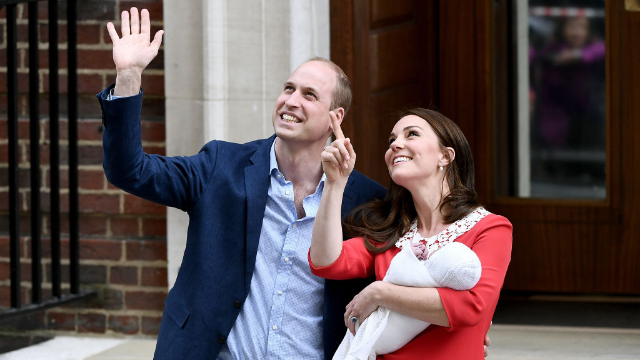 William and Kate's royal wave with the royal baby inspired a royal meme.
