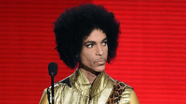 Calm down, Prince's favorite color was not orange.