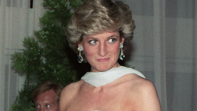 Princess Diana's naughty card to her accountant just went up for auction.