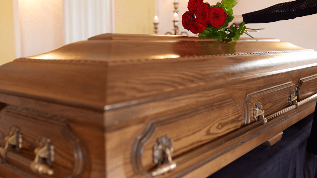 college professor shows up to class in a coffin for a hilarious