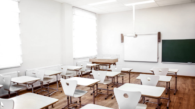 Professor loses his sh*t when no one shows up to his class. Just one problem.