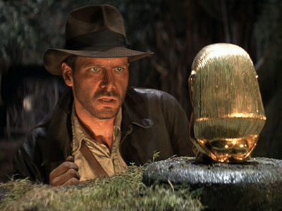 Professor who always wears Indiana Jones hat gets big welcome from his students.