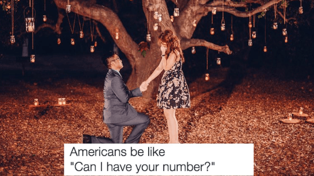 New 'Americans be like' meme nails the ridiculousness of promposal season.