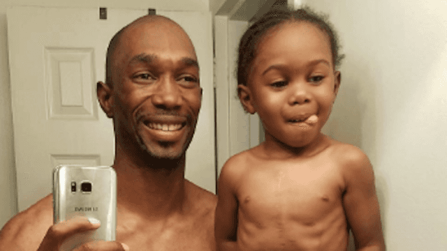 Proud dad posts shirtless selfie with son that's so heartwarming it just might break Instagram.