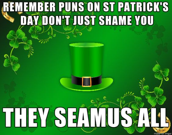 punsstpattys Y8F1Kh 17 st paddy's day memes that will make you laugh into your