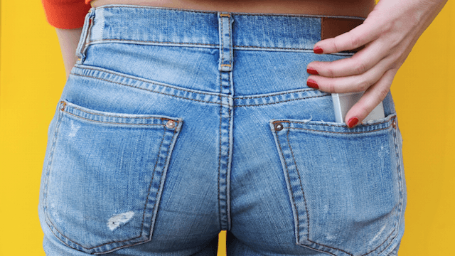 Those little silver buttons on jeans actually have a purpose beyond digging into your butt.