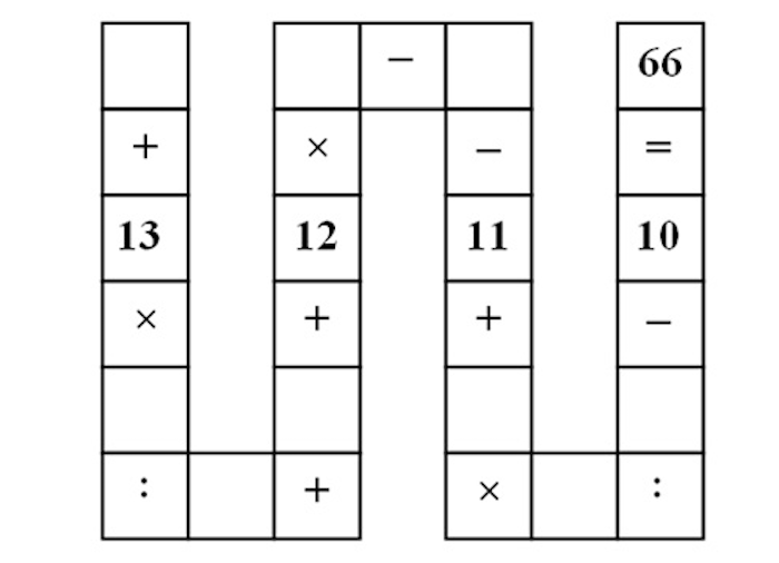 Can you do this impossibly difficult math puzzle for 8-year-olds or are you as stupid as me?