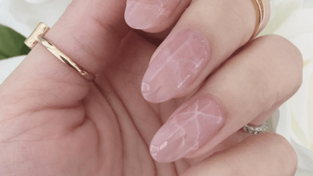 'Quartz nails' are the hot new trend that make you look like a beautiful rock.