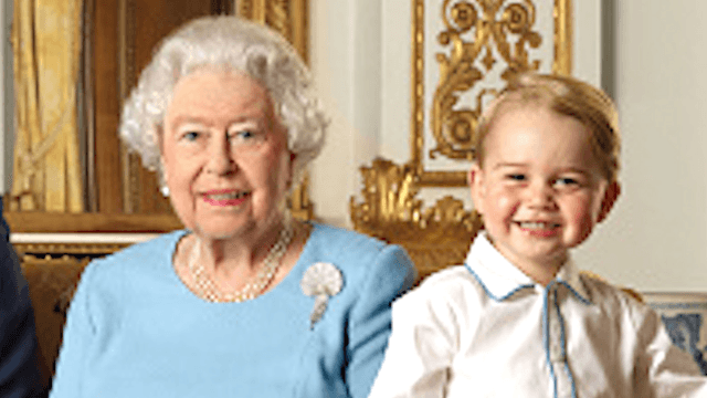 This face swap of the Queen and Prince George will give you royal nightmares.