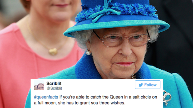 #QueenFacts started as way to honor Elizabeth, but quickly became a hilarious joke on Twitter.