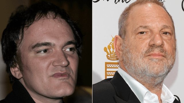 Quentin Tarantino 'stunned' and 'heartbroken' over the Harvey Weinstein allegations. Poor Quentin.