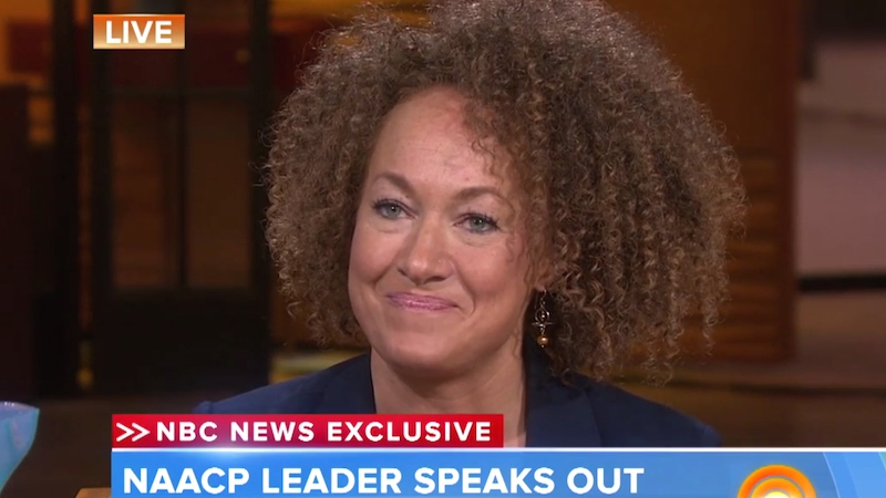 An unapologetic Rachel Dolezal refused to back down in her first TV interview.