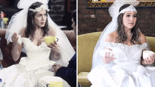 This woman recreated some of Rachel Green's most 90s outfits in 'Friends.' It'll make your day (your week, your month or even your year).