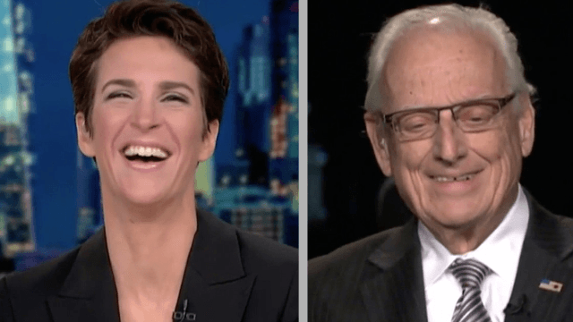 People are loving Rachel Maddow's quick response to a guest accidentally calling her 'sir.'