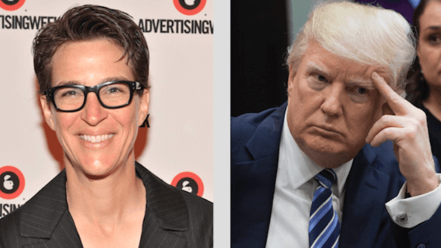 Rachel Maddow released Donald Trump's tax returns and Twitter lost its mind.