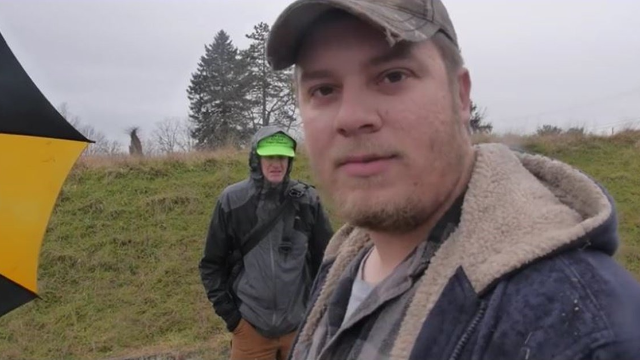 Racist berating black cameraman has no idea what's about to happen to him next.