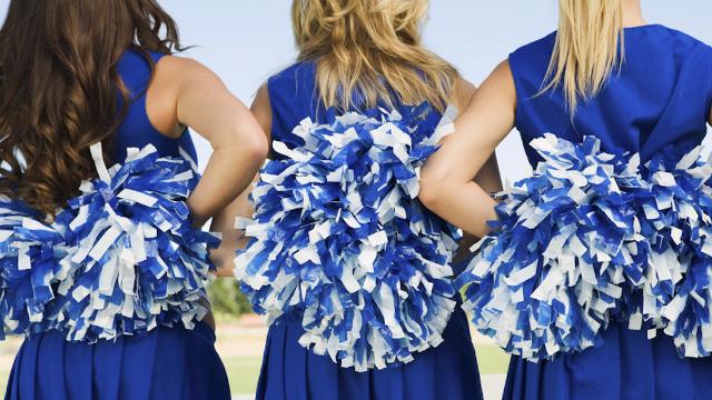 A disturbing video of Utah cheerleaders gleefully chanting racist slurs is going viral.
