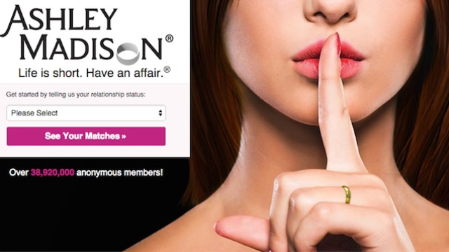 Radio hosts told a woman on the air that her husband is on Ashley Madison, and it's unclear who felt most horrible.