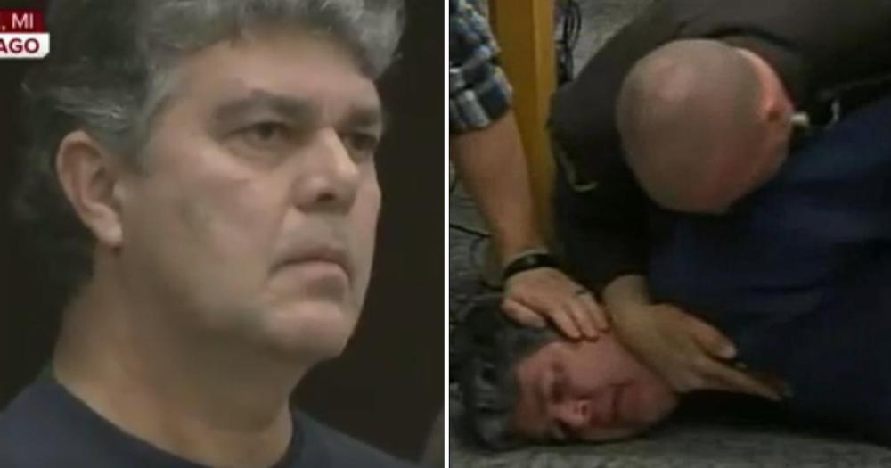 Video Of Victim S Father Trying To Attack Larry Nassar In
