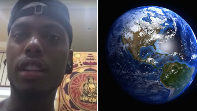 Rapper B.o.B. is raising money to prove that the world is flat and for some reason people are donating.