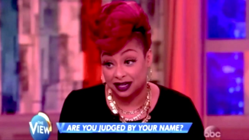 """Raven-Symoné apologizes for comments about """"ghetto"""" names that even her dad called """"dumb S#%T."""""""