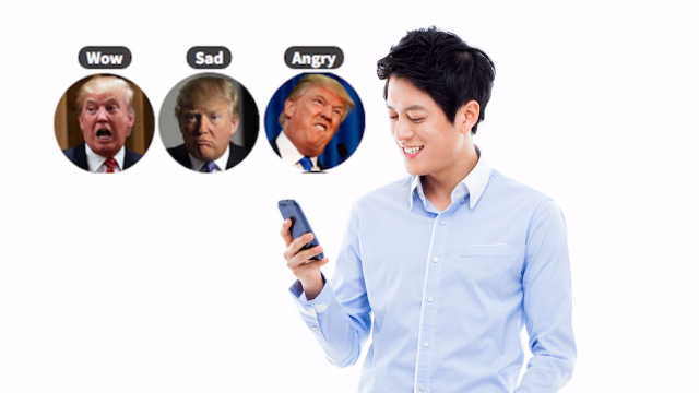 Reaction Packs lets you swap those boring Facebook reaction emojis with Donald Trump's orange face, Pokémon, and more.