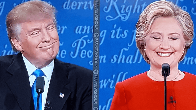 The 46 best reactions to the first Trump-Clinton presidential debate.