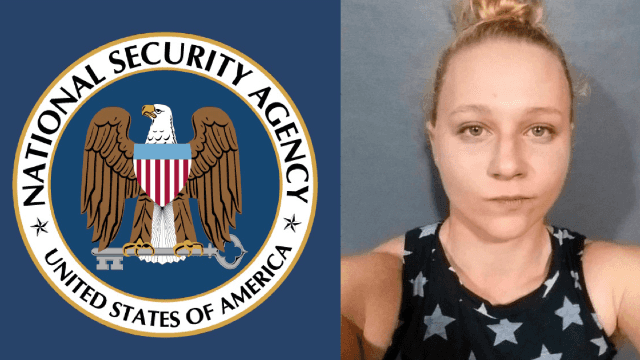 Woman arrested for leaking a top secret NSA report. All Twitter can do is laugh at her name.