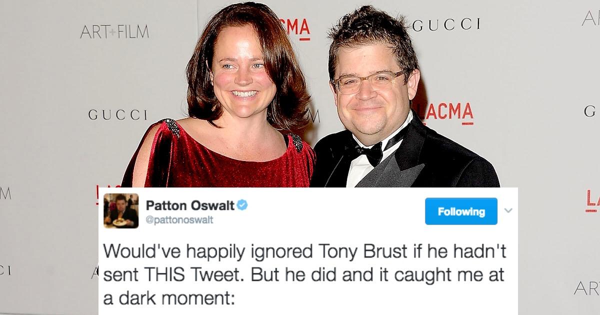 Trump Loving Troll Fired For Making Fun Of Patton Oswalts Deceased