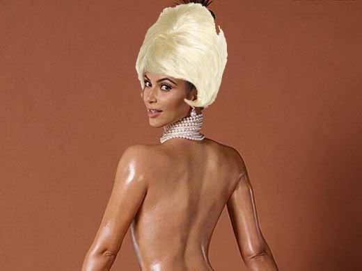 Red Alert: Kim Kardashian's blonde now.