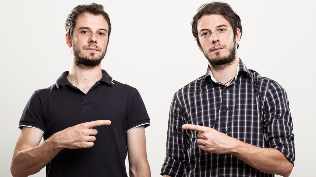 12 stories of people getting identical twins confused.