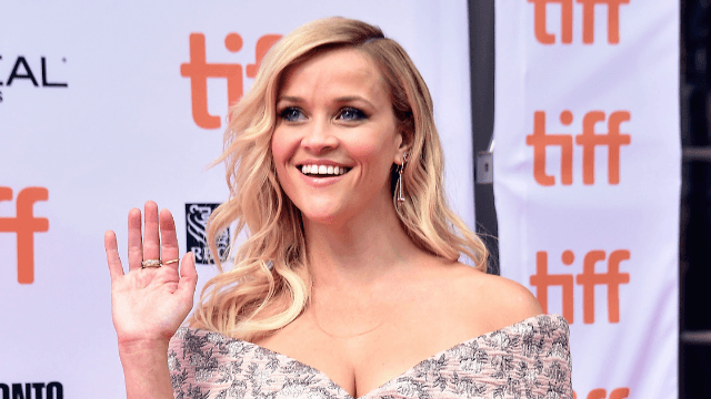Reese Witherspoon is as excited as anyone should be to see Dolly Parton.