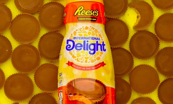 Reese's Peanut Butter Cup Creamer Is the Perfect Addition to Your Morning Coffee