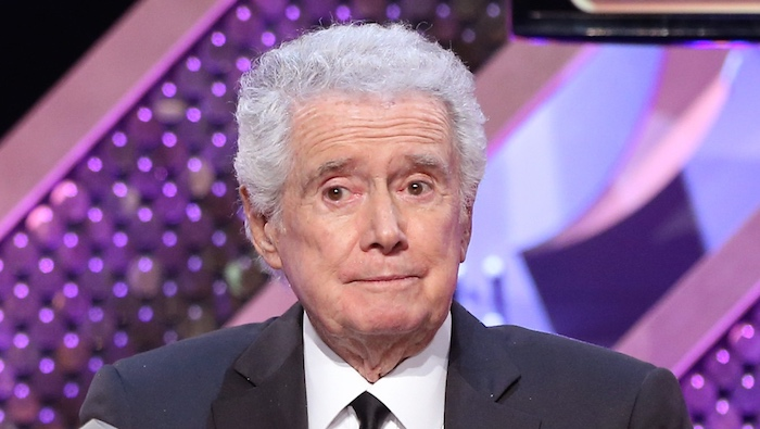 Somewhere, there's a painting of Regis Philbin with an appropriate amount of energy for his age.