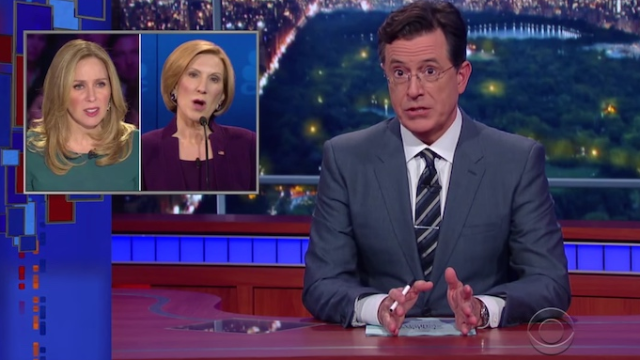 Missed the GOP debate this week? Stephen Colbert tells you the very little you need to know.