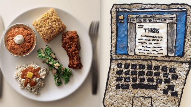 This artist uses Rice Krispy Treats to make art that is a feast for both the eyes and mouth.