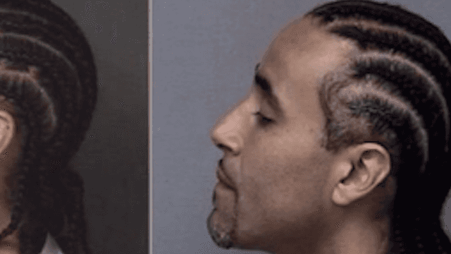 Innocent man walks free when police discover his evil doppelganger.